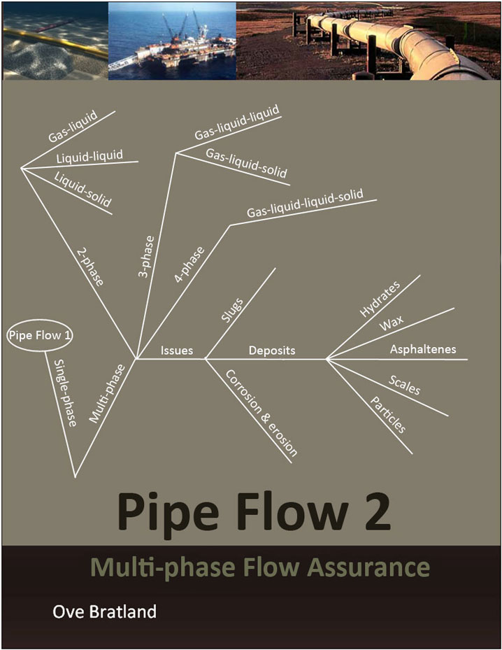 Free book on flow assurance describing multiphase flow, including slugging and various other flow regimes.